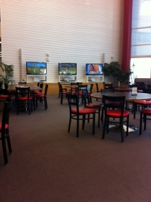 Part of the OTC dining hall