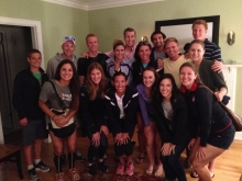 The group after dinner at the Kempers!