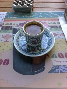 First (and last) Turkish coffee