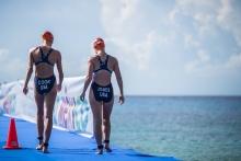 Cook and Jones Swim Start, photo credit:Etienne Van Rensburg