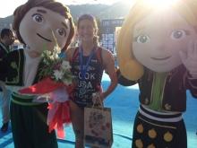 Triathlon mascots? City of Alanya mascots?