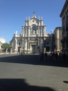 Incredible architecture in Catania