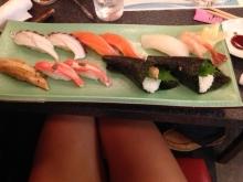 Identify my sushi platter