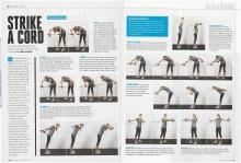 Triathlete Magazine, February 2016 (model in photographs)