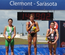 Representing USA on the podium with Taylor Spivey!